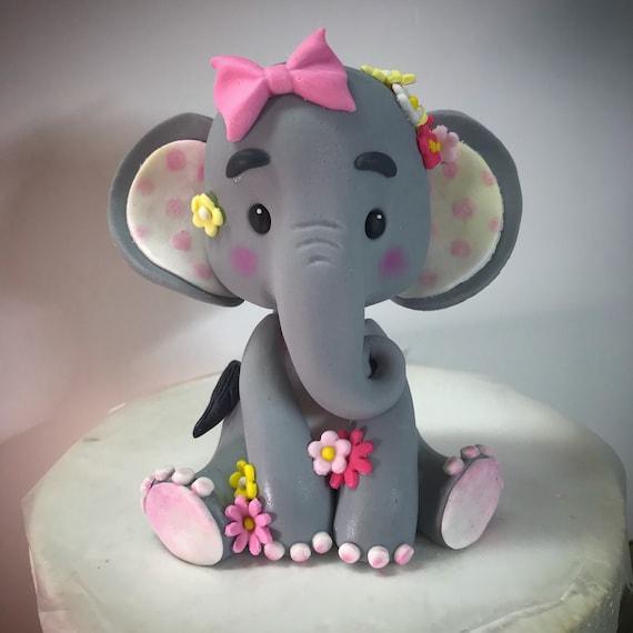 Elephant Baby Shower Cake Topper Etsy