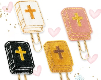 Biblical Planner clip Magnet Bookmark JW Service girl Jumbo Paperclip Esther Gold Paperclip