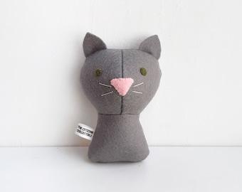 Custom cat portrait, plush cat, memory cat personalized doll, handmade personalized plush doll, pet loss, cat made to order, custom made
