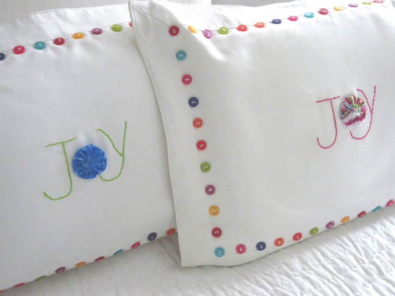 Decorative Pillow Joy Pillow Joy in Jesus Gifts for Mom Yo Yo image 0