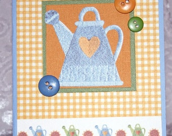 Watering Can and Sunflower Card For Sale  20170336