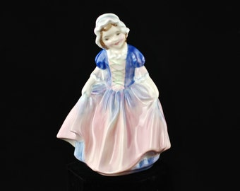 "Vintage Royal Doulton Porcelain Figurine - ""Dinky Do"""