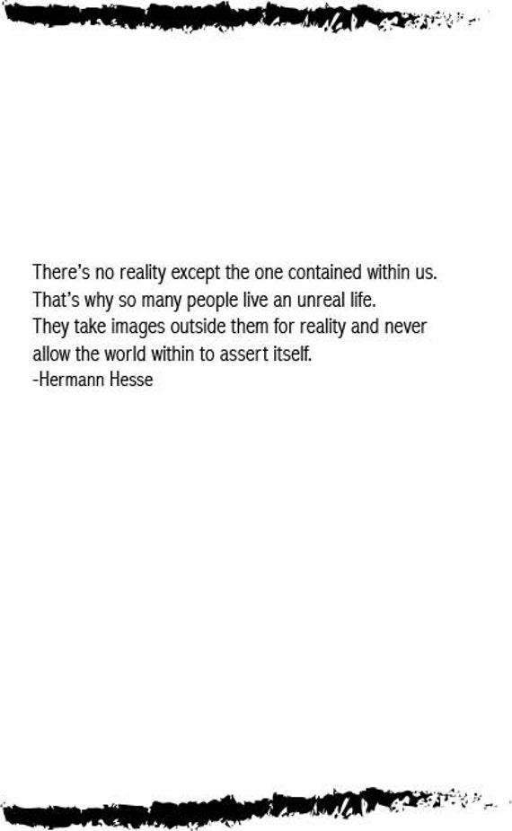 Hermann Hesse Quote Digital Paper