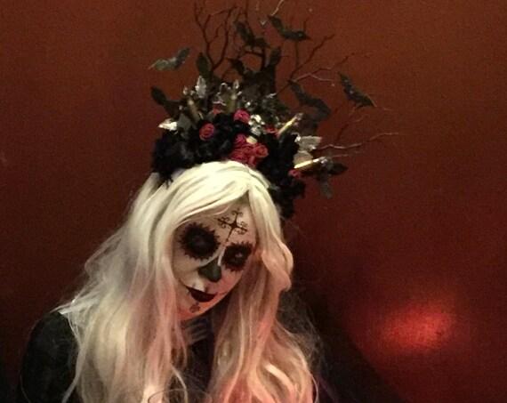 Halloween, Day of the Dead Headband