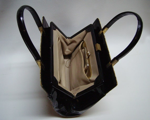 Vintage KORET Python Snakeskin Handbag - image 2