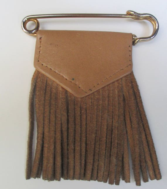 Vintage YVES SAINT LAURENT Safety Pin Brooch - image 2