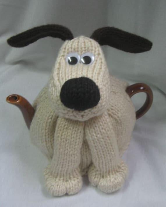Dog Tea Cosy Knitting Pattern Pdf File By Automatic Etsy