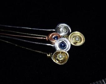 Pearl Nest Headpins