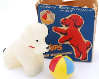 Vintage Der Wunderhund (Mystery Dog) Magnetic Toy - 1950's West Germany - In Original Box