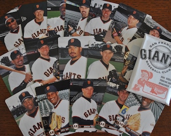 Complete Team Set of 28 Cards Vintage 1991 Mother/'s Cookies San Francisco Giants Baseball Cards Souvenir Stadium Giveaway Cards