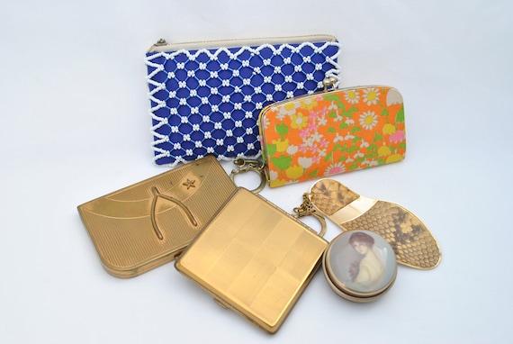 Vintage 1960's Women's Accessories Lot - Compacts