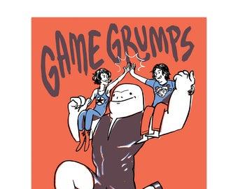 Mycaruba // Game Grumps (Print)