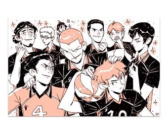 Team Karasuno // Haikyuu!! (Print)