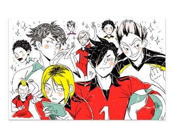Rivals // Haikyuu!! (Print)