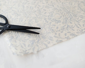Metallic Silver Filigree + Natural Handmade Wrapping Paper Sheets w/ Deckled Edges • 2 sheets