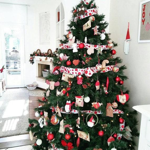PDF-Muster-9-Weihnachtsbaum Ornament Dekorationen-Nähen | Etsy