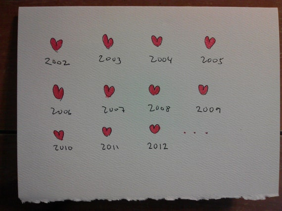Love message and funny greeting card for her anniversary or etsy image 0 m4hsunfo