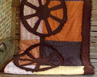 Wagon Wheel  Quilt Pattern