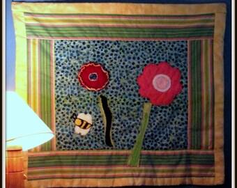 Summer Flowers Modern Quilt Pattern