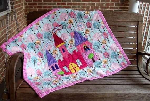 Princess Evelyn S Castle Quilt Pattern Fast And Fun Beginner Quilt Pattern