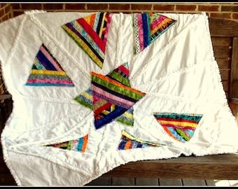 White Cottage Quilt Pattern