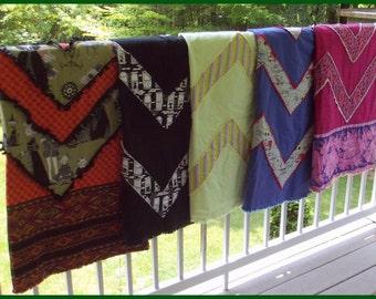 Cheery Chevron Quilt Blanket Pattern