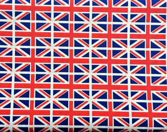Union Jack Fabric Etsy