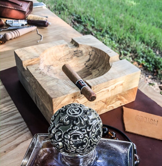 Mid Century Cigar Ashtray