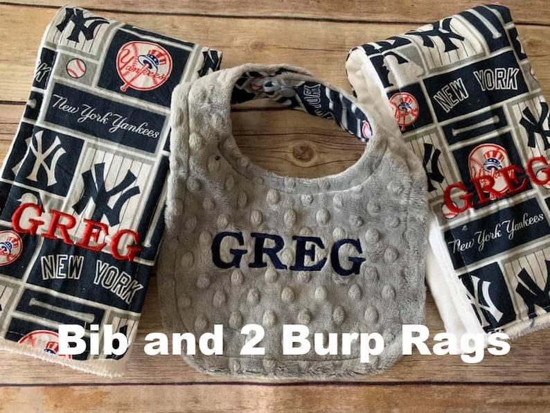 Personalized San Francisco Giants Baseball Fleece and Minky Blanket with baseball applique