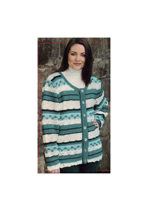 ce2fee891d65d Instant Download PDF Knitting Pattern to make a Womens