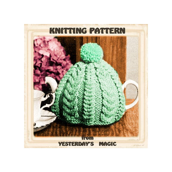 Instant Download Pdf Easy Quick Knitting Pattern To Make A Etsy