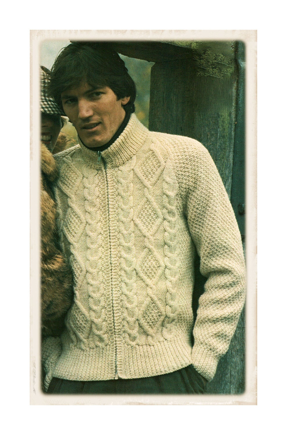 C77 Easy Top Knitting Pattern PDF Instant Download