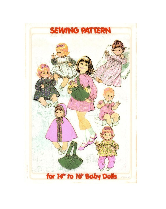 Full Size PDF Sewing Pattern A4 Printable to make Dolls | Etsy