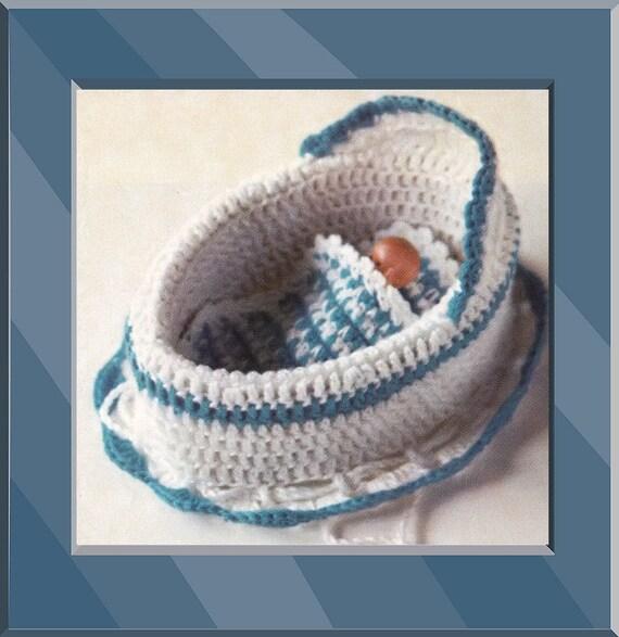 Ravelry: Crochet Doll Cradle Purse pattern by bobwilson123   587x570