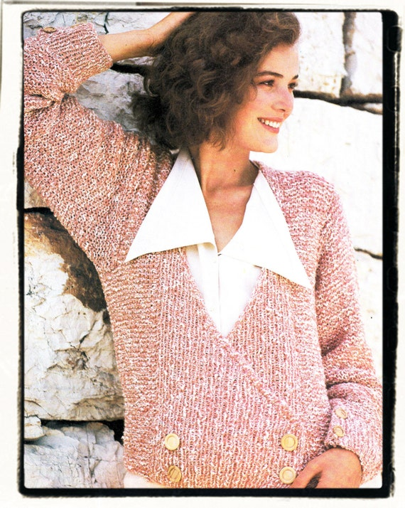 0870ca02f7cf6 Instant Download PDF Knitting Pattern to make a Long Sleeve