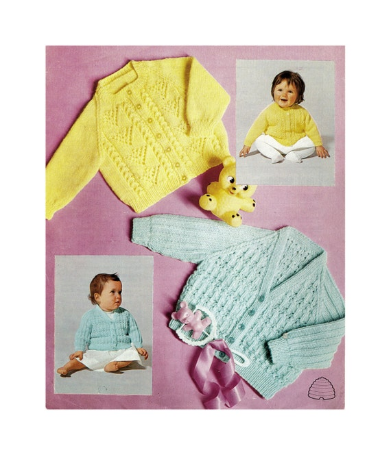 Instant Download Pdf Easy Knitting Pattern To Make 2 Styles Etsy
