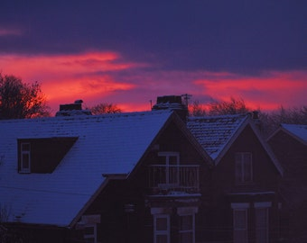 Roof tops in Manchester - Cityscape -  Fine Art photography print - Home Decor - Wall Art