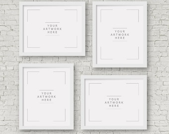 Set of 4 PRINTS, choose any photos, original, signed and dated Fine Art Photo Prints, with additional white borders