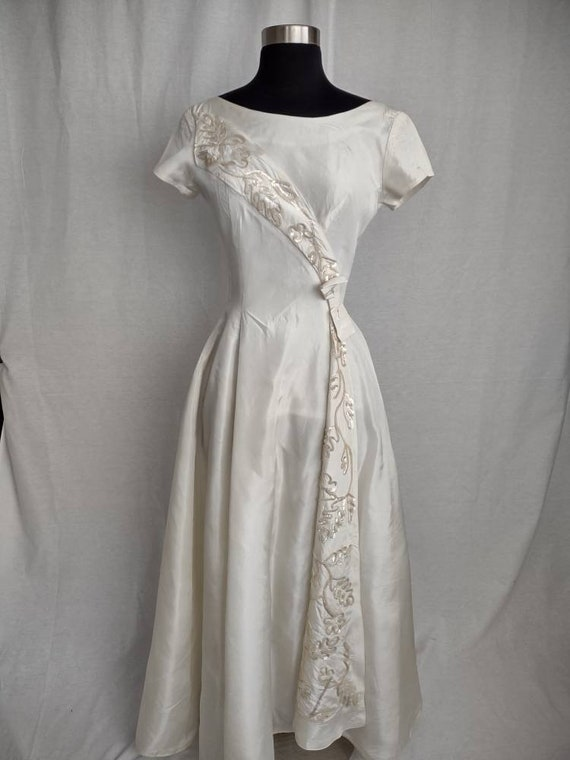 Emma Domb bridal wedding dress vintage 1950 1960