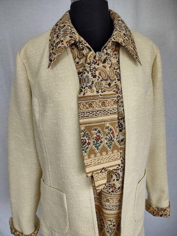 Lovely little three piece suit circa 1970