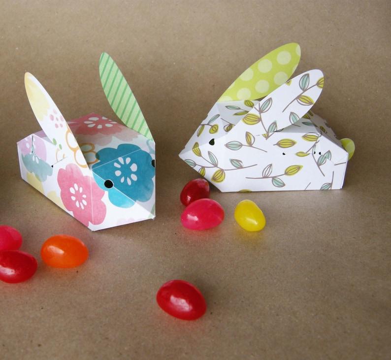 DIY Little Bunny SVG file treat box image 0