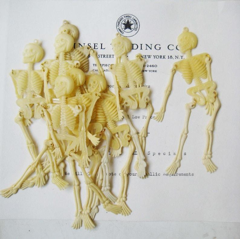 Vintage Plastic Skeletons found on Etsy