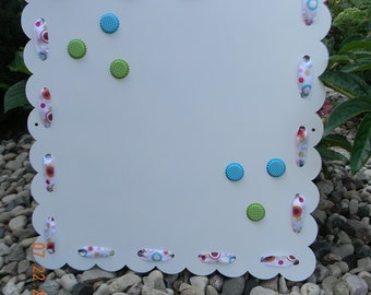 Polka Dot Magnetic Display Board