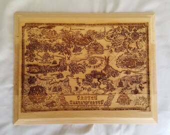 Legend of Zelda Hyrule Map