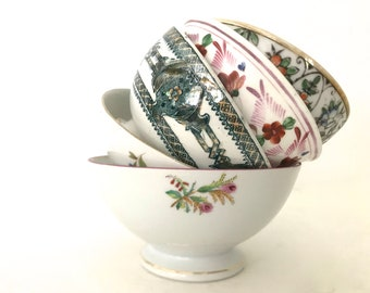 Vintage Bowl cafe au lait / Set of 5