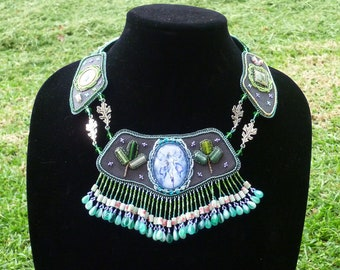 The Forest Faery-OOAK necklace