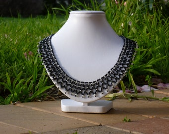Simple Elegance---A Cleopatra-style Necklace