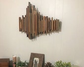 Grateful Dead Sound Wave Art, Wood Music Soundwave, They Love Each Other- The Grateful Dead, Anniversary Gift, Unique Wedding Gift, Song Art