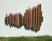Sound Wave Radiohead Song - Creep, Soundwave Art, Wood Wall Art, Unique Gift, Sound Diffuser, Music Wall Art Home Decor