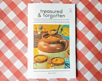 Treasured & Forgotten #7 Recipe Zine -- Bread and Soup